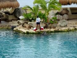 Im Dolphinaris auf Cozumel kümmen sich die Trainer gut um die Delphine