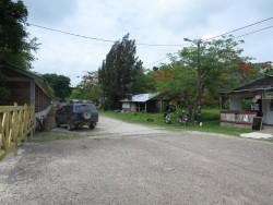 Auf dem Weg von Belize City nach Altun Ha
