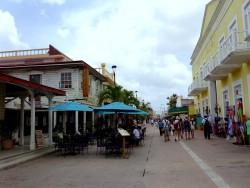 Einkaufsstraße in San Miguel auf Cozumel