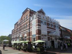 Auf Langeoog wohnten wir im Hotel Mitten Mang