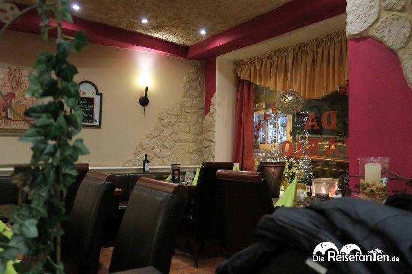 Der Gastraum des Restaurants Da Mario in Clausthal-Zellerfeld