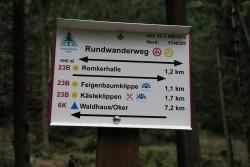 Die Wanderwege im Harz sind gut ausgeschildert
