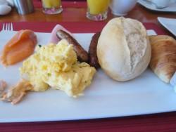 Frühstück im Hotel Mitten Mang auf Langeoog