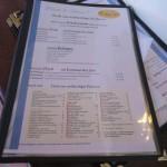 Im Restaurant Treffpunkt auf Langeoog gibt es Fisch aus nachhaltiger Fischerei.