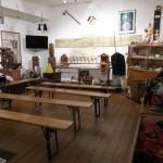Der Museumsbereich des 19-Lachter-Stollens in Wildemann