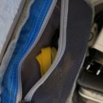 Auch eine praktische Reißverschlusstasche gehört zur Ausstattung des Eagle Creek E-Cube M