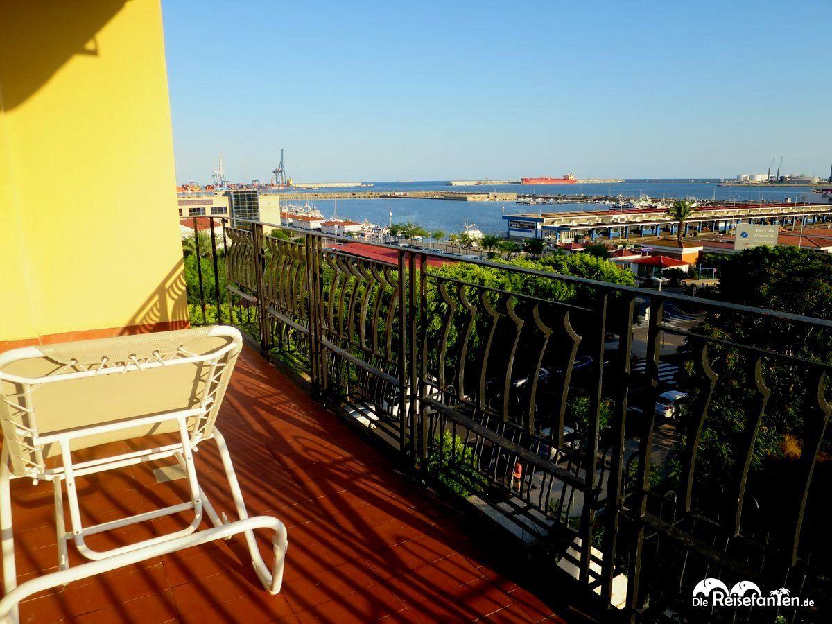 Ausblick vom NH Hotel Castellón Turcosa