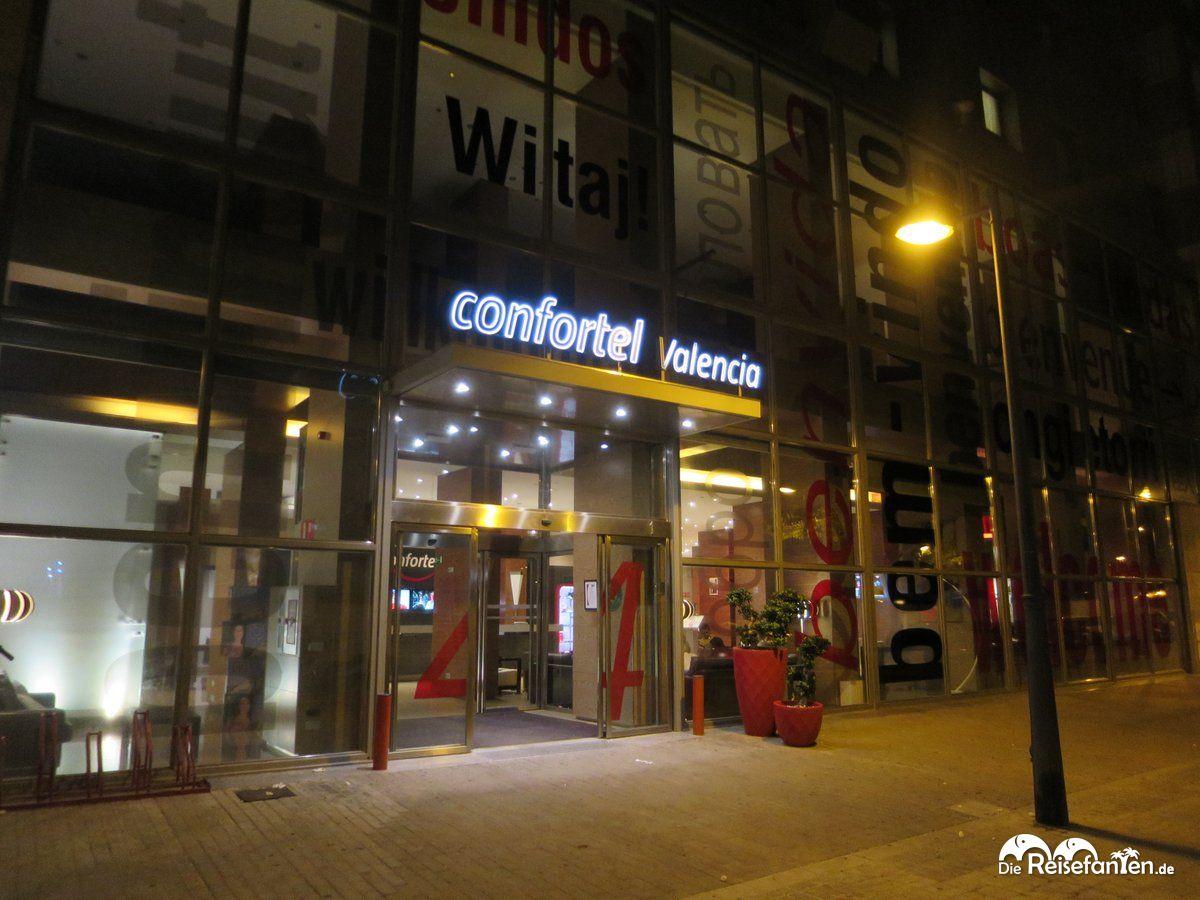 Das Hotel Ilunion Valencia ehemalls Confortel Valencia