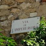 Das römische Reich scheint in Tarragona noch präsent