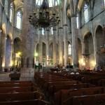 Der Innenraum der Santa Maria Del Mar  in Barcelona