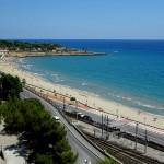 Der Strand von Tarragona
