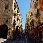 Unterwegs in der Altstadt von Tarragona