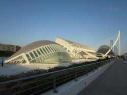 Das  L'Hemisfèric  in der Stadt der Künste und der Wissenschaften  in Valencia