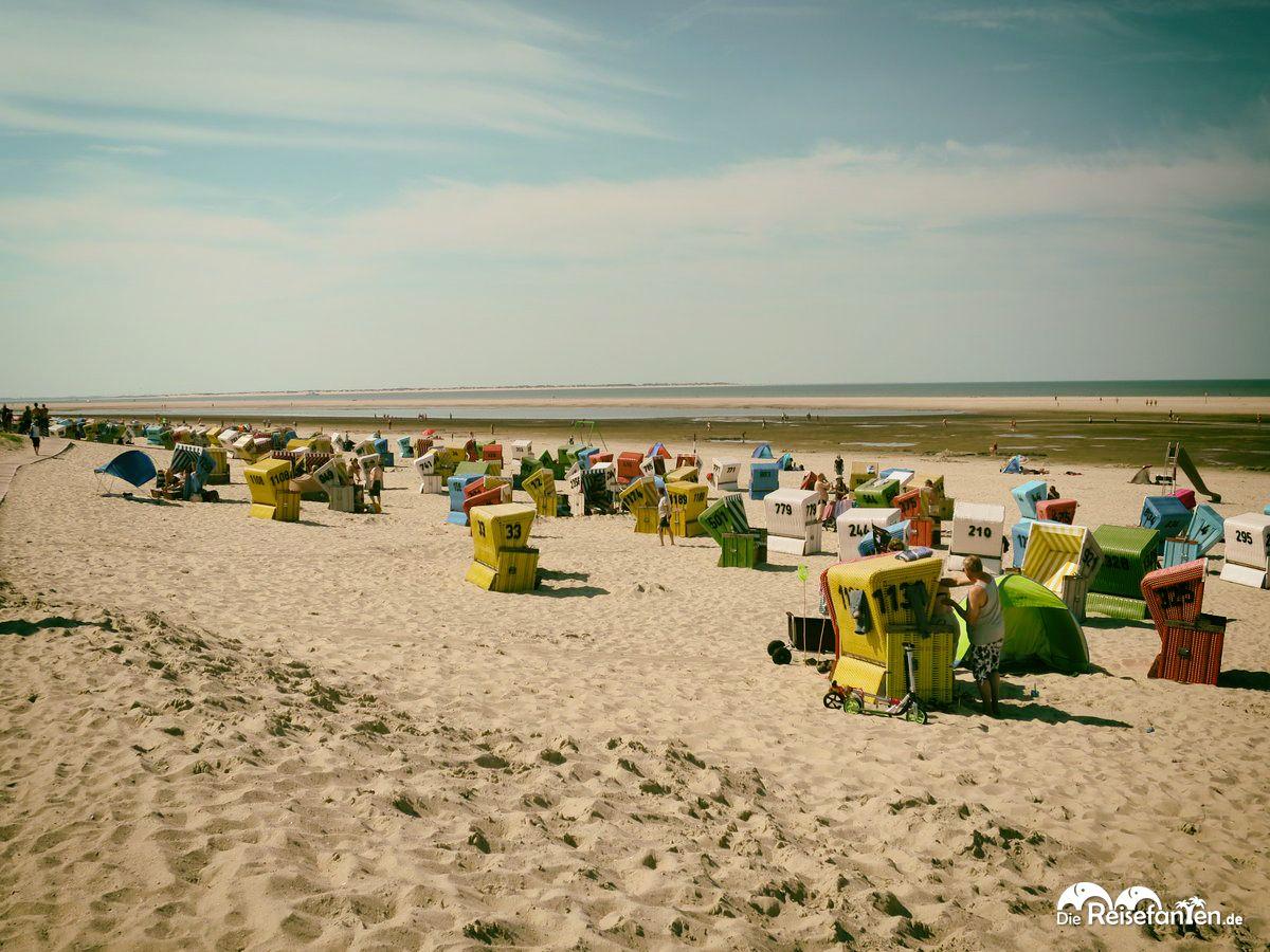 Der Strand von Langeoog