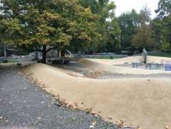 Einer der vielen Spielplätze im Luisenpark Mannheim
