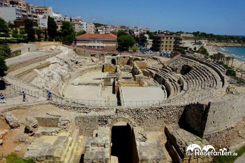 Gut erhaltenes Amphitheater in Tarragona
