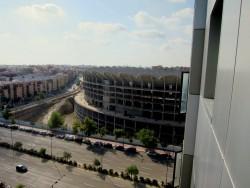 Zimmerausblick aus dem Hotel Ilunion Valencia