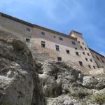 Casa Colgada in Cuenca in Spanien