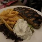 Das köstliche Bifteki im Restaurant Dionysos in Varel