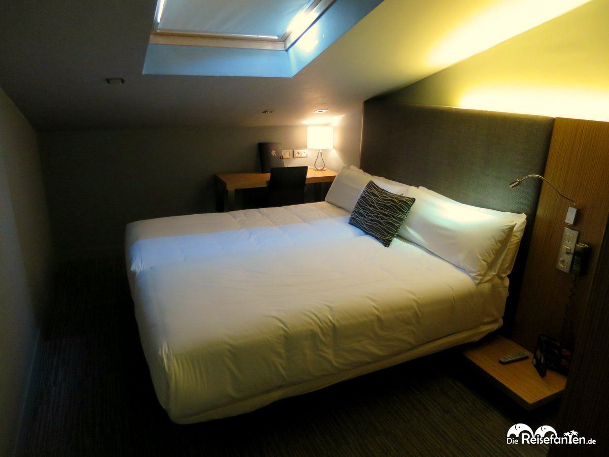 Petit Zimmer im Hotel Petit Palace Tres Cruces in Madrid
