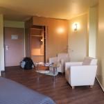 Unser gewinkeltes Zimmer im Upstalsboom Landhotel Friesland