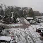 Viele Parkplätze hat das Upstalsboom Landhotel Friesland anzubieten