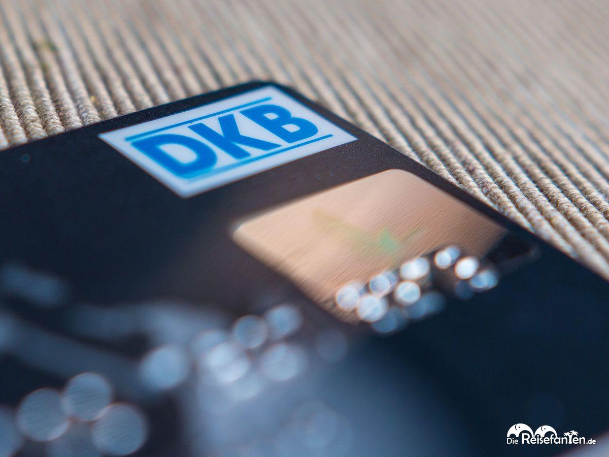 DKB Logo der gleichnamigen VISA Kreditkarte