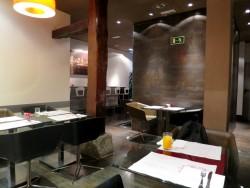 Frühstücksbereich im Hotel Petit Palace Tres Cruces in Madrid