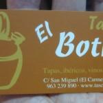 Im Tasca El Bojito in Valencia
