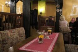 Inneneinrichtung im Restaurant Dionysos in Varel