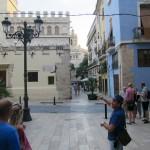 Viele interessante Details über Valencia gab es zwischen den einzelnen Tapas Restaurants.