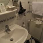 Badezimmer im Landgasthof Rebstock