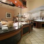 Das Frühstücksbuffet im Hotel Maifeld