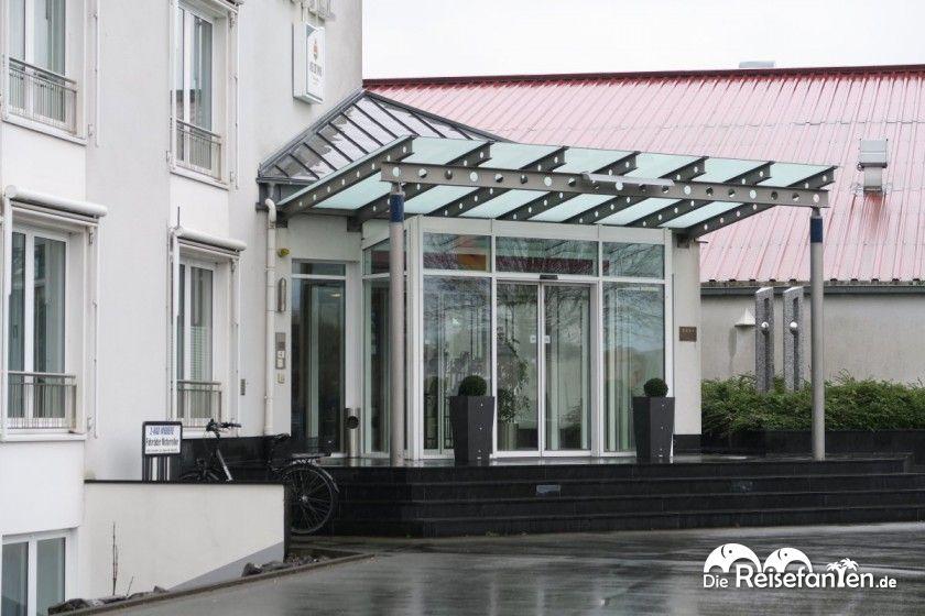 Der Eingangbereich des Hotel Maifeld