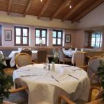 Der Frühstücksraum im Hotel Maifeld
