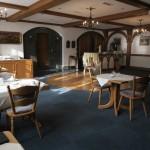 Der geräumige Frühstücksraum im Landgasthof Rebstock