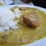 Pechugas al Curry in der Taberna Mas al Sur in Madrid