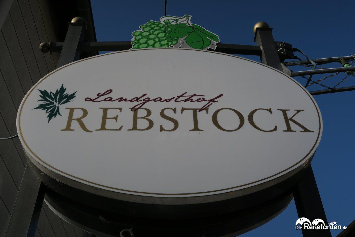 Schild des Landgasthof Rebstock