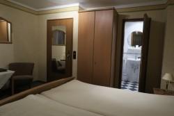 Blick in das Hotelzimmer des Landgasthof Rebstock