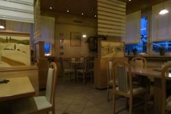 Der Gastraum in der Pizzeria Capri in Werl