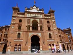Eingangstor der Stierkampfarena Las Ventas in Madrid