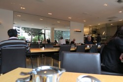 Frühstücksrestaurant im Hotel Wyndham Excelsior in Berlin