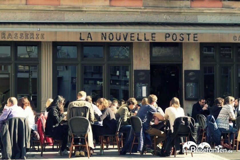 Die Brasserie La Nouvelle Poste in Straßburg