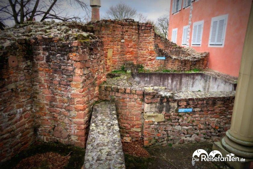 Die verschiedenen Stadtmauern von Ladenburg im Vergleich