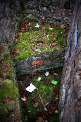 Die leider zugemüllte Mauer der Römer aus dem Jahre 90 nach Christus