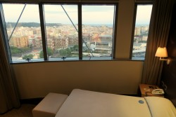 Doppelzimmer mit Aussicht im T Hotel Cagliari auf Sardinien