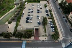 Kostenloser Hotelparkplatz für Gäste des T Hotels Cagliari auf Sardinien