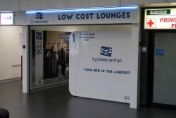 Schlafkabinen im Flughafen Mailand-Bergamo