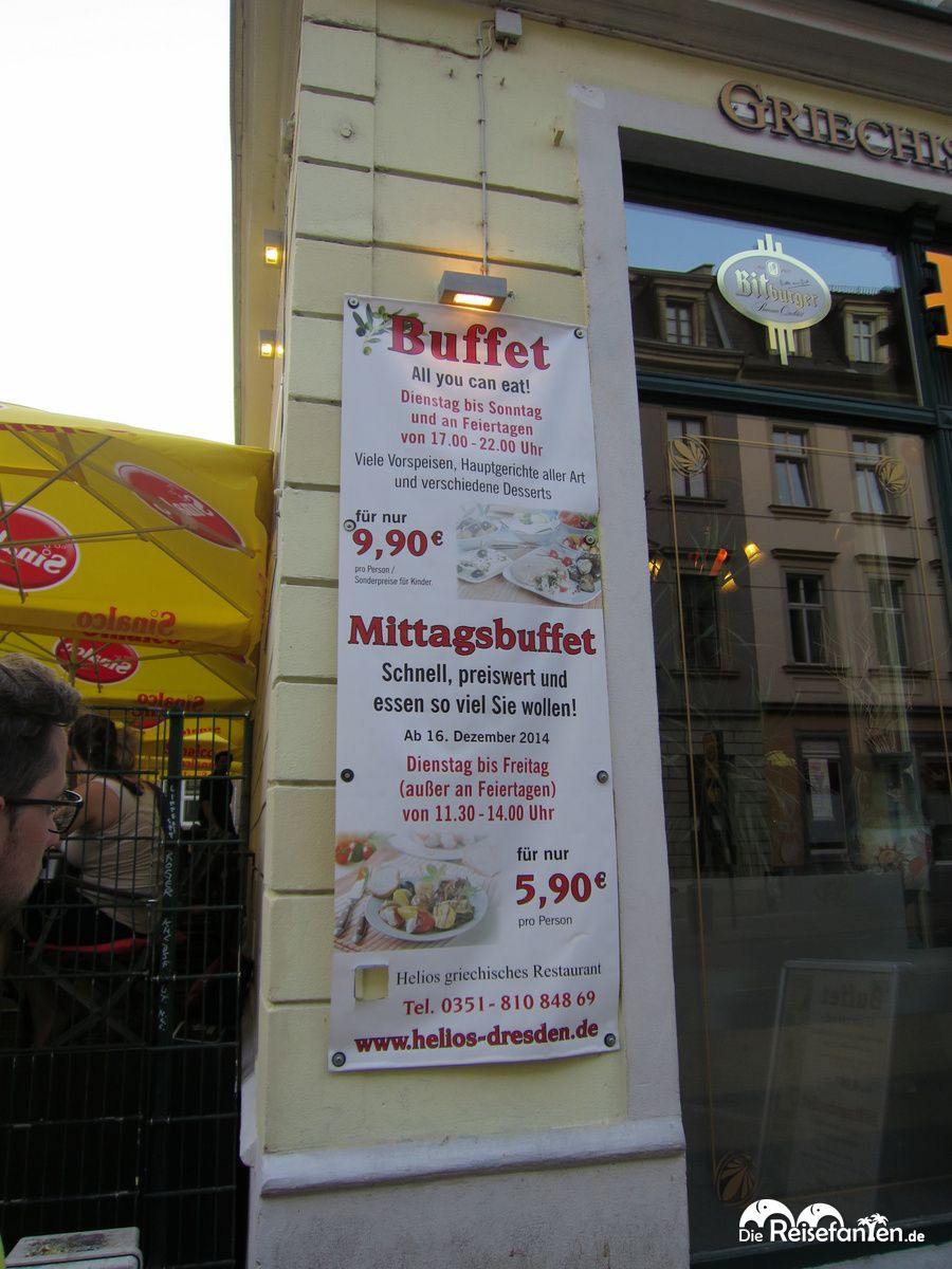 Umfangreiches All You Can Eat Buffet Im Restaurant Helios In Dresden