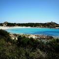 Blick auf die Spiaggia di Punta Molentis